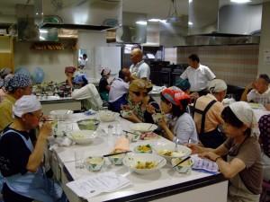 2食育部会.料理教室